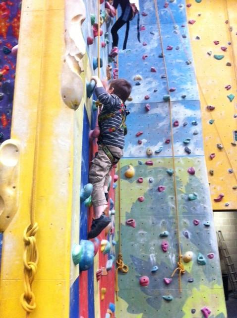 A Trip Rock Climbing
