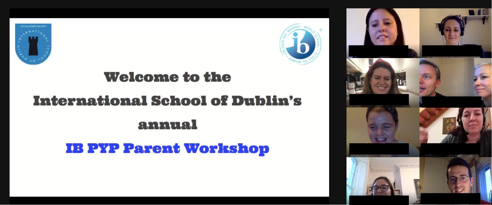 Virtual Parent Curriculum Workshop